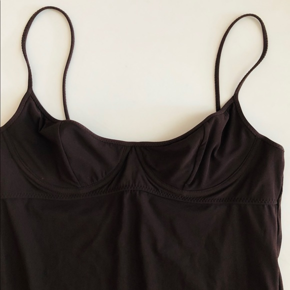 Tomas Maier Other - Tomas Maier brown one piece underwire swimsuit 42